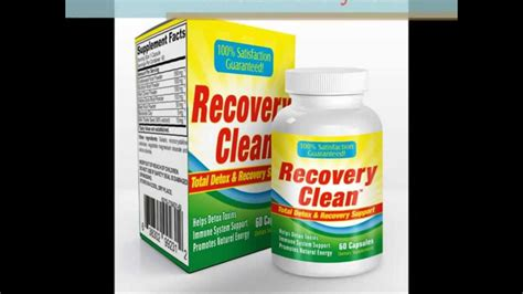Detox Maintain Restore by Recovery Clean Total Detox Recovery Support