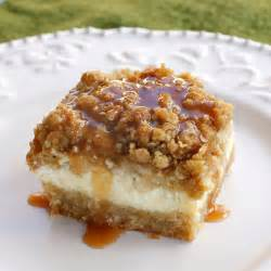 real recipes caramel apple cheesecake bars with