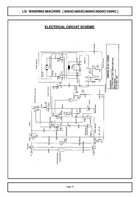 ifb washing machine wiring diagram wiring diagram