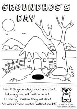groundhog day musical sheet 123 best images about coloring pages on
