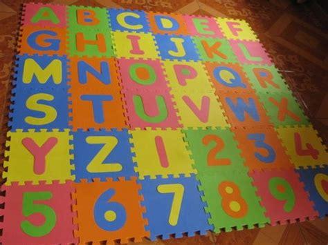 alfombras goma eva alfombra puzzle goma eva 31x31 abecedario completo