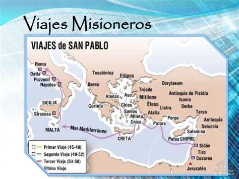 cuarto viaje misionero de pablo mapa san pablo y sus viajes