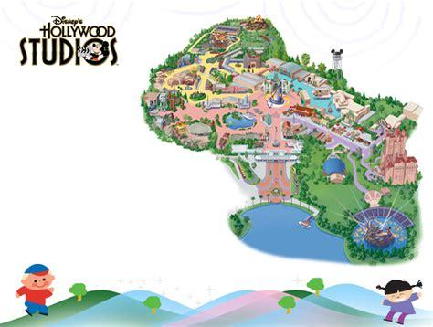 map of studios disneys studios