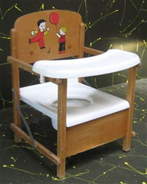 Log Table And Chairs Vintage Nu Line Folding Nursery Chair With Tray And