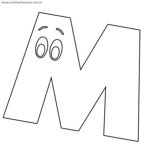 kumpulan letra m page 4 letra m para colorir figura desenho colorir bathroom vanities chandeliers bar stools