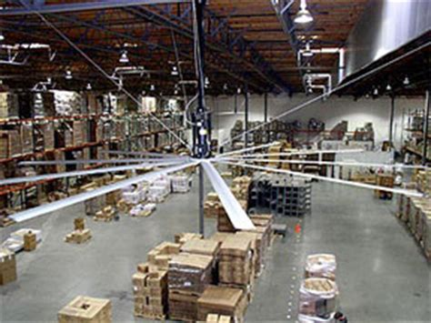 how to cool a warehouse with fans reduce cooling costs with hvls fans