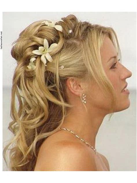 Hochzeitsfrisuren Halblang by Hochsteckfrisuren Halblange Haare