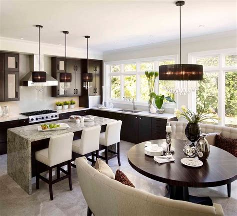 glamorous multifunctional family kitchen family kitchen tailored glamour contemporary kitchen toronto by