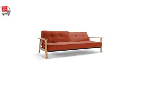 King Sofa Sleeper Splitback Frej Sofa Bed With Arms
