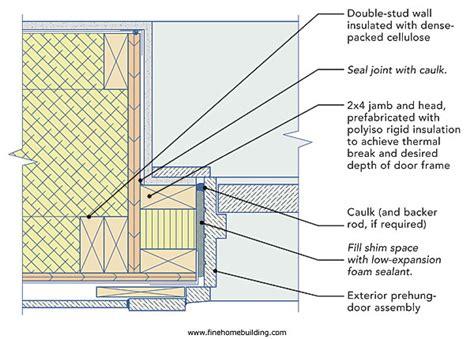 Exterior Door Frame Construction Https Www Ca Search Q Entry Door Framing Detail Building Science Details