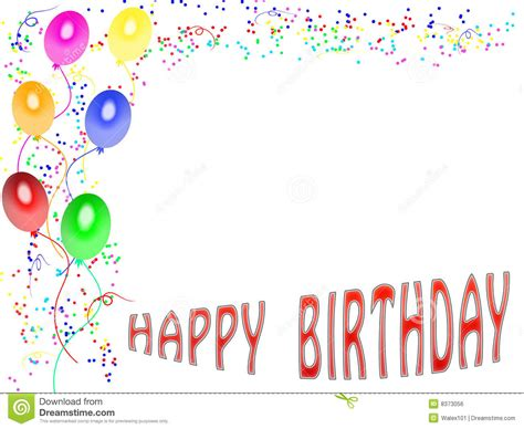 Birthday Card Template by Happy Birthday Card Template Intended For Happy Birthday