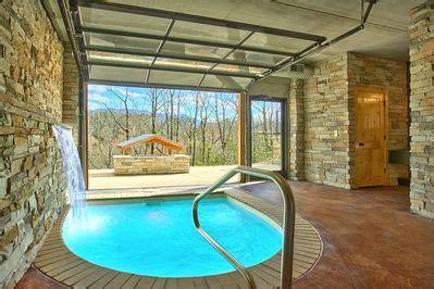 romantic modern cabin  indoor pool spa  amazing