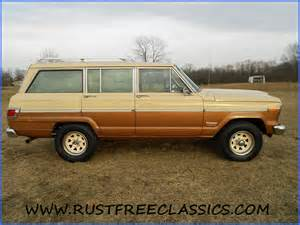 79 Jeep Wagoneer 1979 Jeep Wagoneer 128k 79 Suv Gold