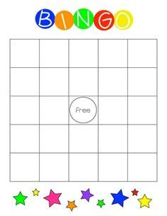 bingo card template powerpoint blank bingo card template free printable blank bingo cards
