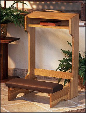 church clerical church furnishings kneeler prie dieu padded kneelerclassic frame