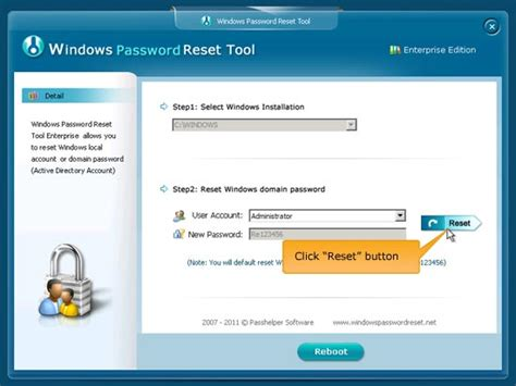 password reset on xp how to break administrator password in windows xp without
