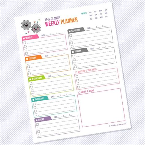 day at a glance calendar template 385 best images about printables binders planners oh my