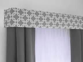 Custom cornice board valance box window treatment custom curtain