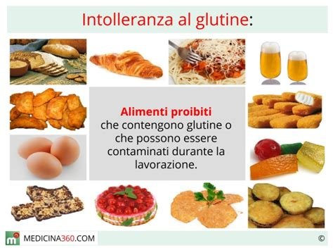 test intolleranza al glutine i tipi di intolleranze alimentari di