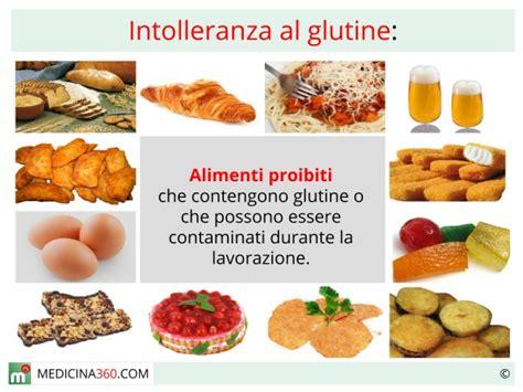 alimenti che contengono glutine i tipi di intolleranze alimentari di