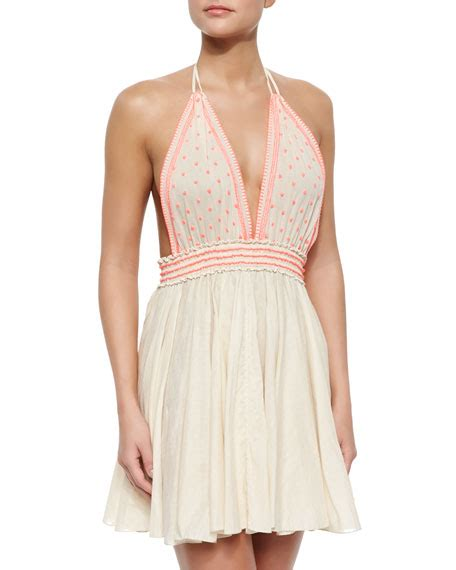 Dress Bali 9 loveshackfancy bali embroidered linen halter dress