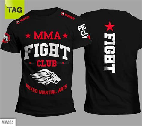 t shirt mma mixed martial arts muay thai ufc lions fight club power tees colors ebay