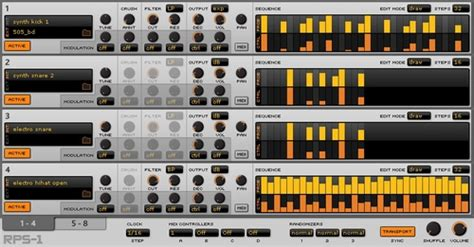 drum pattern vst vstplanet vst plugins free virtual instruments and effects