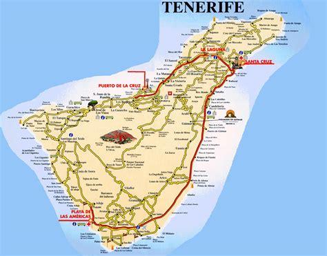 world map tenerife kaart tenerife images frompo