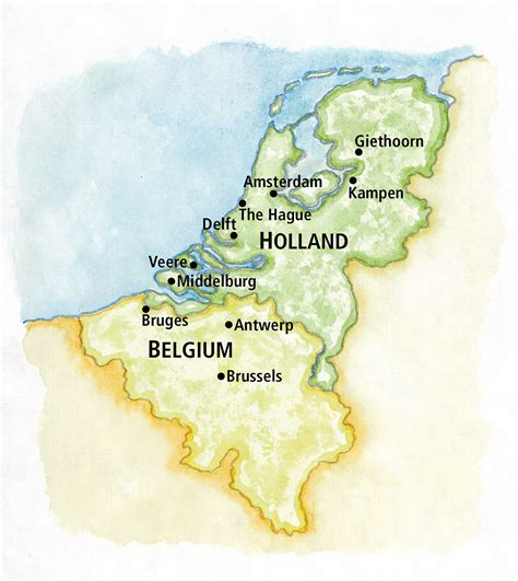 map of netherlands and belgium waterways and canals of and belgium the ohio