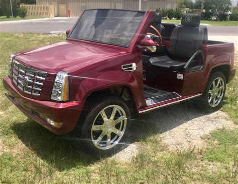 2014 Cadillac For Sale by Low 2014 Cadillac Escalade Golf Cart For Sale