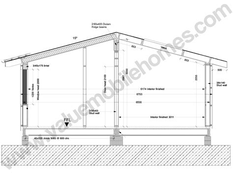 specification sections mobile home specification roof types and sections