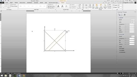 how to draw economic graphs economics class how to make graphs in microsoft word