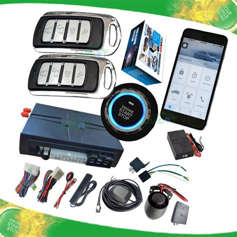 Alarm Mobil Auto gsm car alarm system is with side door alarm and shock