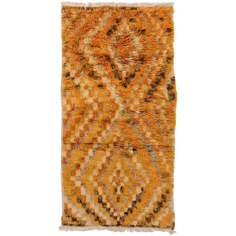 shag pile rug vintage anatolian shag pile quot tulu quot rug for sale at 1stdibs