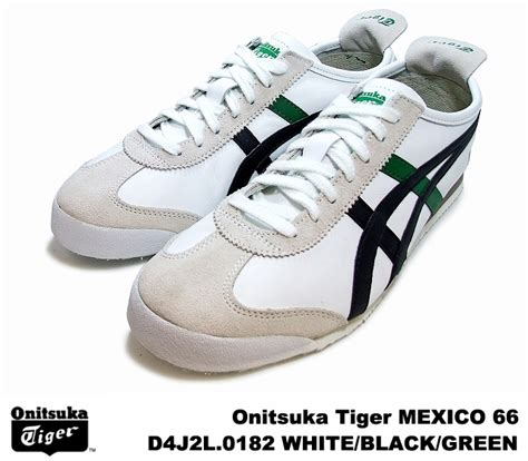 Po Original Onitsuka Tiger Mexico 66 Yellow Mustard White D6e9l 7102 premium one rakuten global market onitsuka tiger mexico 66 mexico white black green onitsuka