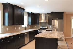 black kitchen cabinets pictures dark themed homes 10 black white home interior ideas