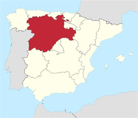 castilla leon file castilla y leon in spain svg wikimedia commons