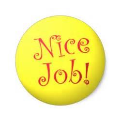 Craft Designs For Kids - nice job stickers zazzle