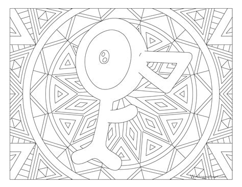 unown pokemon coloring pages 201 unown pokemon coloring page 183 windingpathsart com