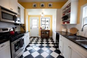 Black And White Kitchen Floor Black And White Kitchen Floor