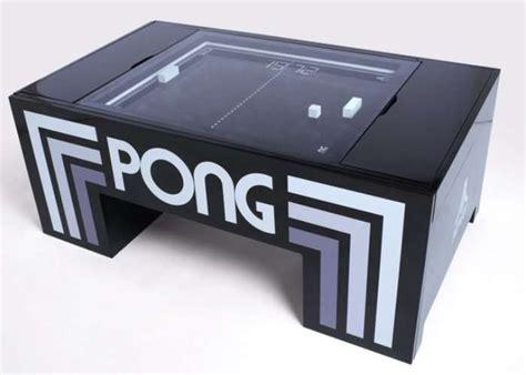 pong table atari pong coffee table hits kickstarter geeky