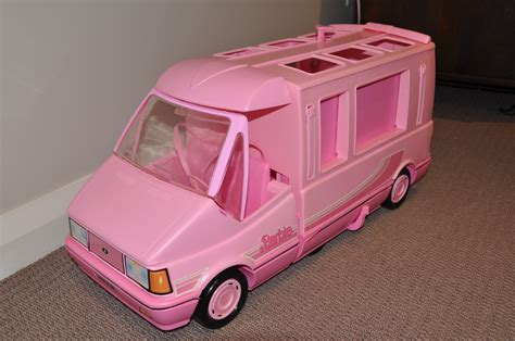 barbie cars from the 90s 1989 barbie doll magic van i have just recently bought