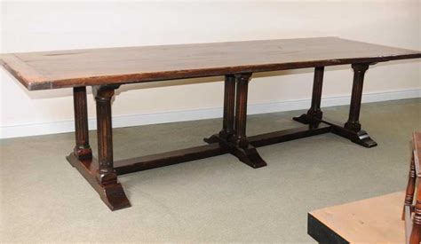 large italian refectory table wood farmhouse kitchen