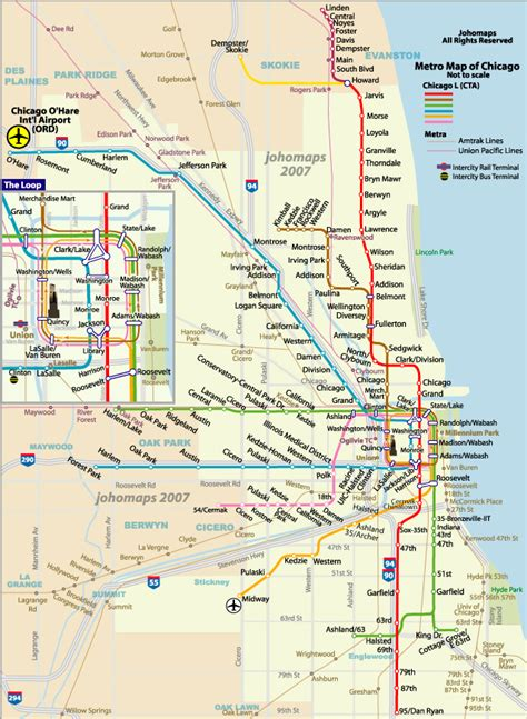 Metro Chicago Map by Chicago Metro Naturally Geographic