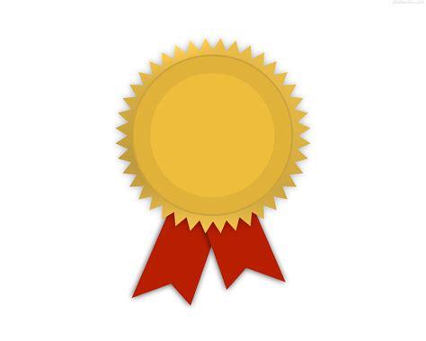 Award Ribbon Template by Award Metal Template Gold Medal With Ribbon