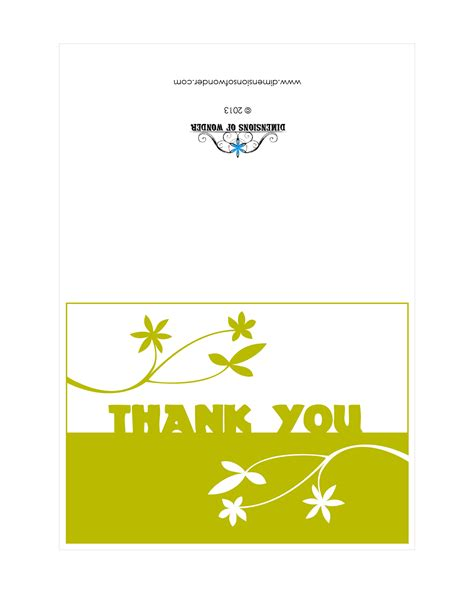 printable thank you cards with photo free printable thank you cards matching envelopes with