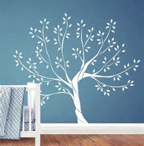 Tree Wall Decals For Nursery Etsy White Tree Wall Decal Nursery Wall Decal By Jesabi On Etsy 110 00 Help My