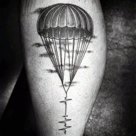 skydive tattoo designs 30 parachute designs for sky diving ink ideas