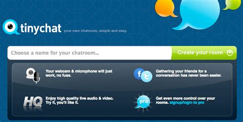 Tinychat Live Room by How To Conduct A Live Broadcast With