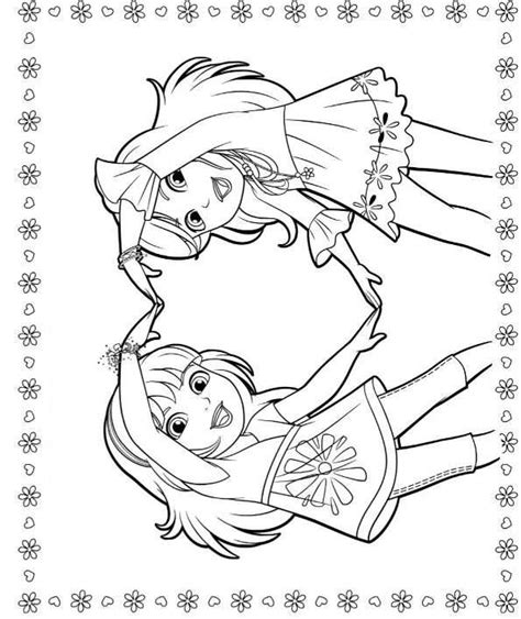 coloring pages of dora and friends kids n fun com 6 coloring pages of dora and friends